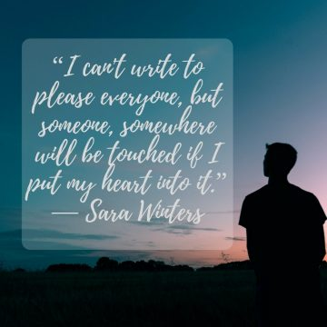 Sara Winters quote